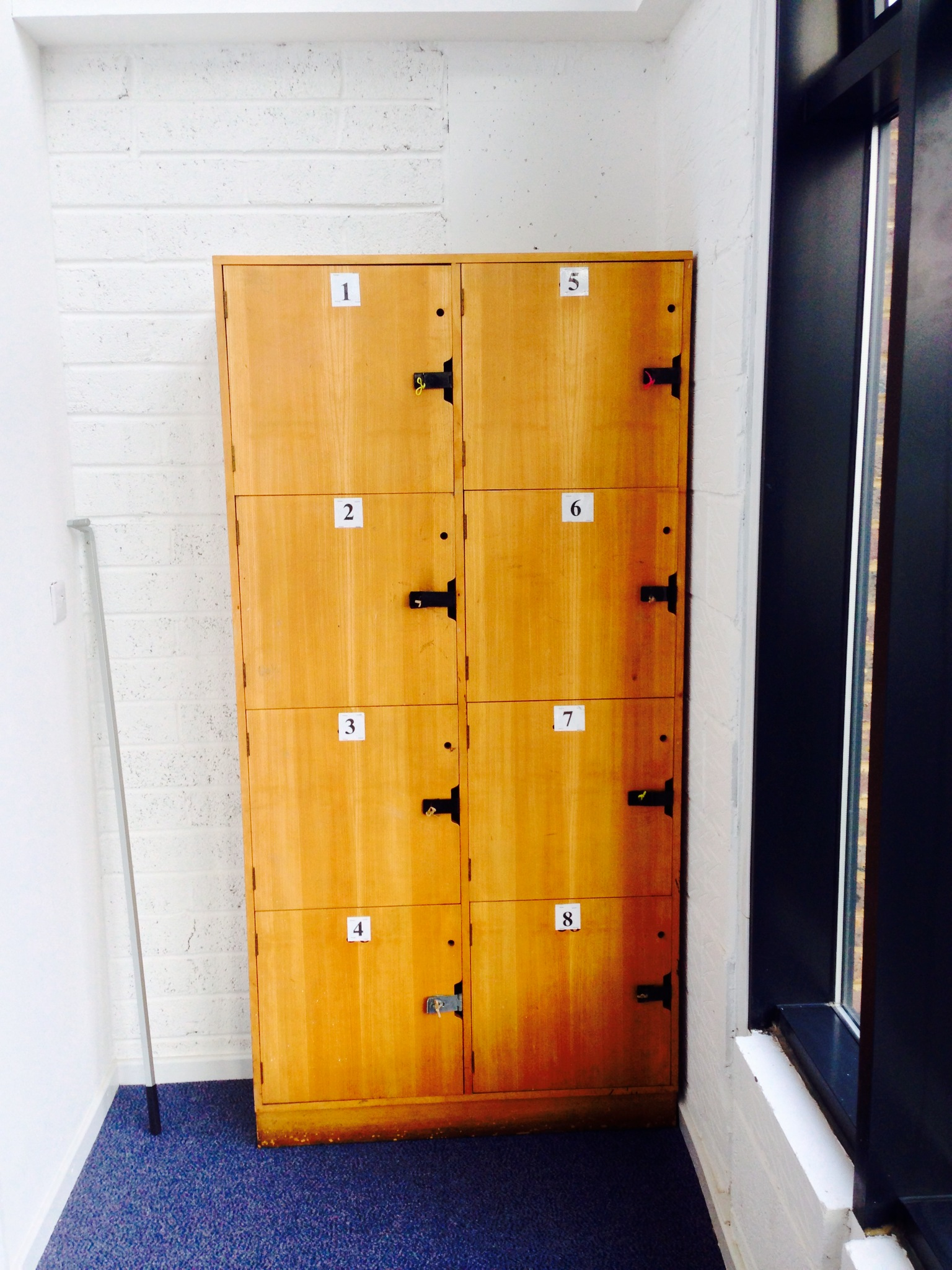 The Fold Space - Lockers Storage