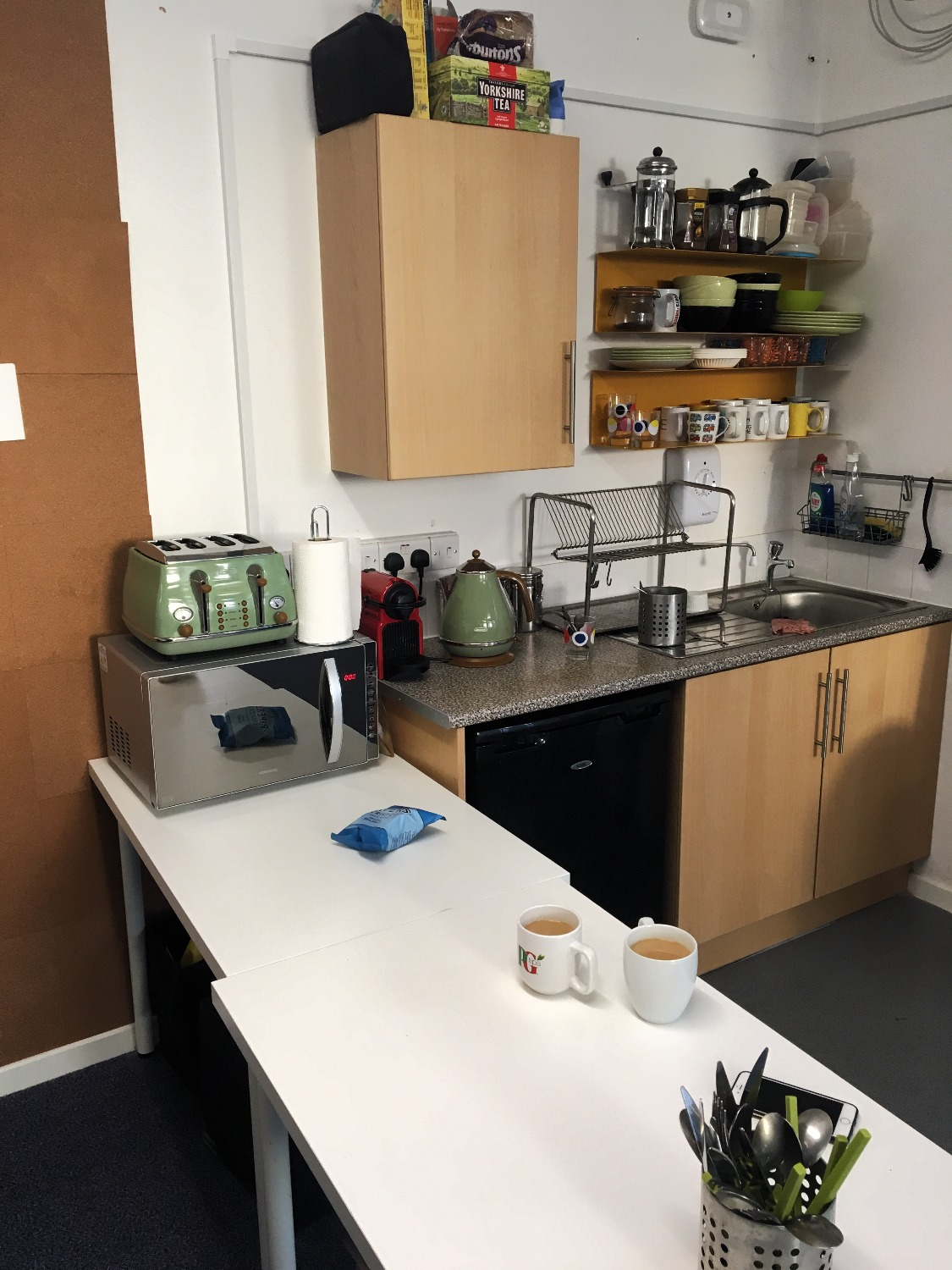 The Fold Space - Kitchen Area