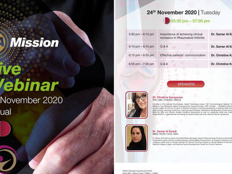 Qatar Rheumatology Association Live Webinar