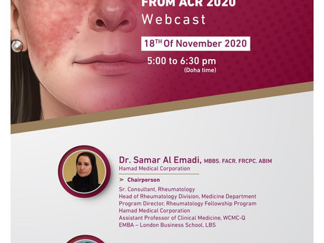 Qatar Rheumatology Association invites you to attend...