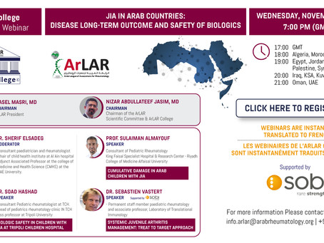 ArLAR College 5th Webinar