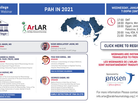 ArLAR College PAH in 2021 Webinar