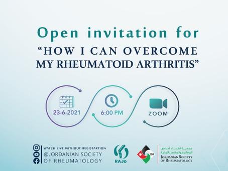 JSR - June 23 - How to overcome my rheumatoid arthritis?