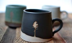 Small Norway Pine Mugs
