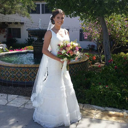 Today's stunning #bride at _quailranchevents! Such an honor being a part of this incredible vendor e