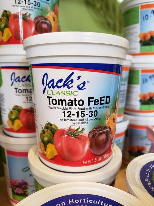 Jacks Tomato fertilizer 12-15-30
