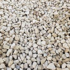 "1.5"" Fractured limestone"