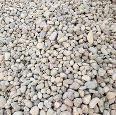 """1.5"""" Rounded river rock"""