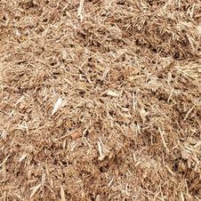 Double ground bark mulch