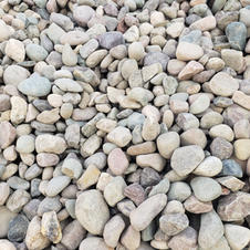 """2.5"""" Rounded river rock"""