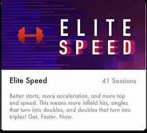 Softball - EliteSpeed
