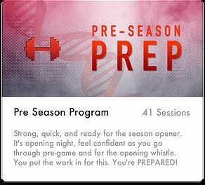 Soccer - PreSeason Prep