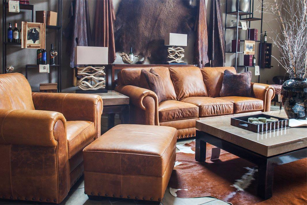 Leather Furniture - Custom