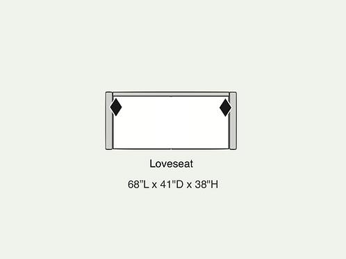 Mirabelle Loveseat