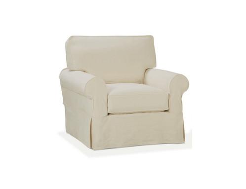 Adriana Chair   Quick Ship   Slipcovered Furniture   United States   Nantuckit  Furniture Company