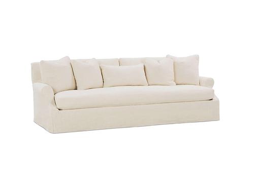 "Brielle 98"" Slipcovered Bench Cushion Sofa"