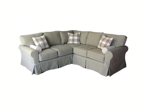 Abercrombie Sectional (As Shown in Photo)