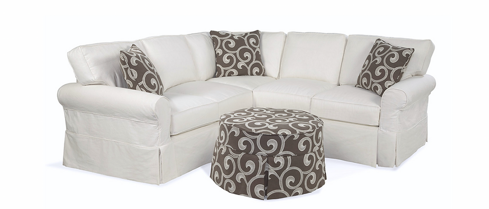Abercrombie Box Back Sectionals