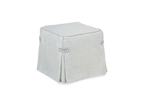 "Ottoman Slipcover Cube L19""xD19""xH19"""