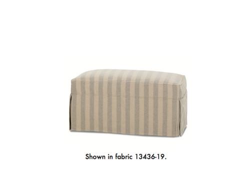 Hope Ottoman   Slipcovered Furniture   United States   Nantuckit Furniture  Company