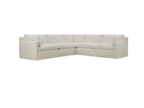Sylvia Slipcovered Sectional