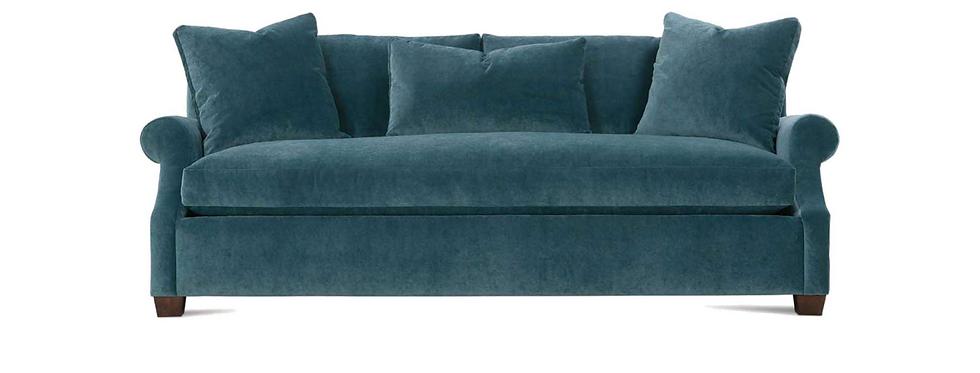 """Brielle 85"""" Bench Cushion Sofa"""
