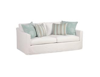 Riley 2-Seat Rectangle Back Sofa