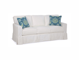 Carter 3-Seat Box Back Sofa