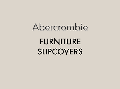 Abercrombie Slipcovers ONLY