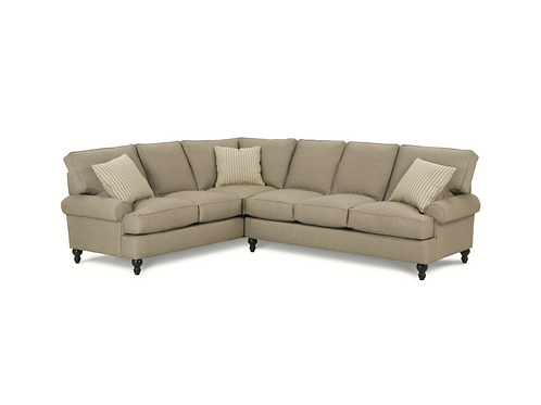 Carly Sectional (as shown) 3 Cushion Left & 3 Cushion Corner Right