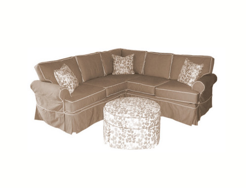 Erwin Sectional As Shown in