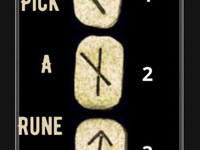 Free Reading - Pick A Rune 1, 2 or 3 ?