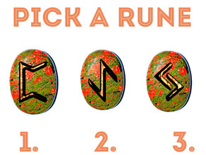 Pick A Rune - 1, 2 or 3 ? Free Message