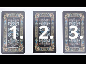 Pick-A-Card 1, 2 or 3?