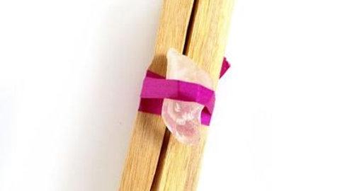 Crystal & Palo Santo Stick Set