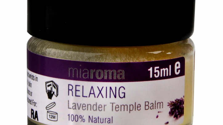 Relaxing Lavender Temple Balm 15ml