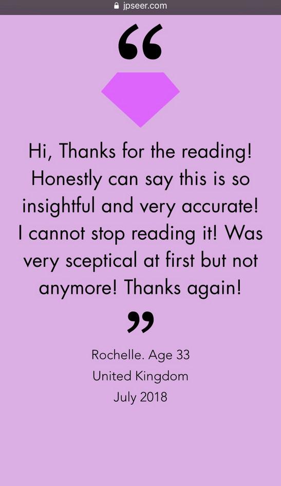 Client Feedback Rochelle