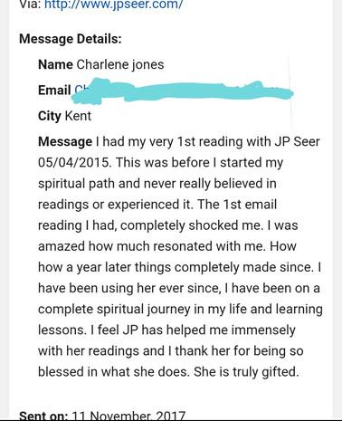 Client Feedback Charlene