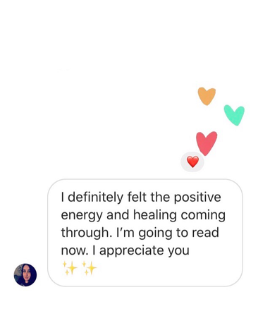 Michele's Healing Feedback May 2020✨