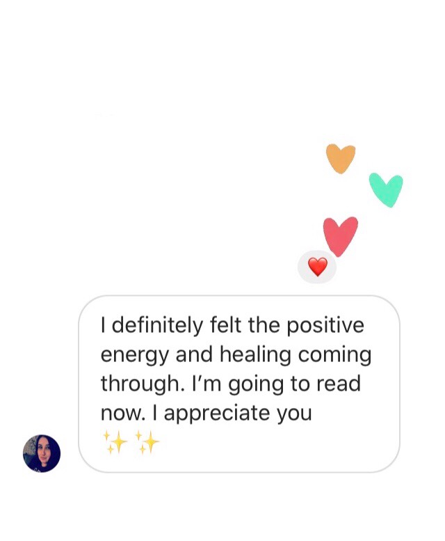 Michele's Healing Feedback May 2020✨
