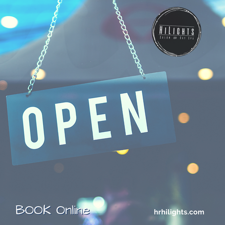 ReOpen Oregon - HiLights Salon & Day Spa is Open!