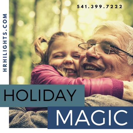 Hood River Holiday Magic is HiLights Hair Salon & Day Spa