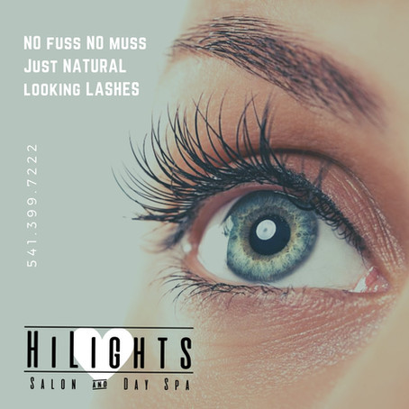 Hood River Eyelash Services ... HiLights Salon and Day Spa