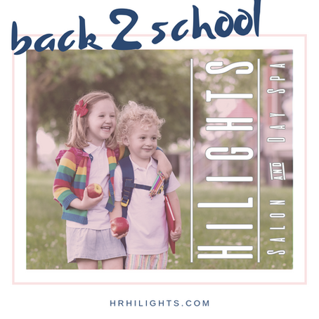 Back to School is here Hood River...HiLights Salon and Day Spa is HairCut ready!