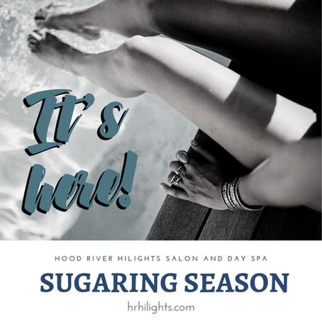 It's Here...Sugaring Season at HiLights Salon & Day Spa