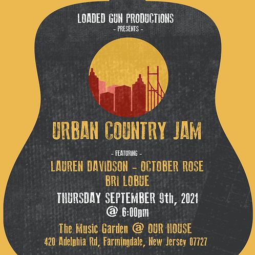 Urban Country Jam NJ VIP TICKET