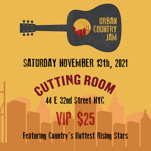 Urban Country Jam VIP NYC