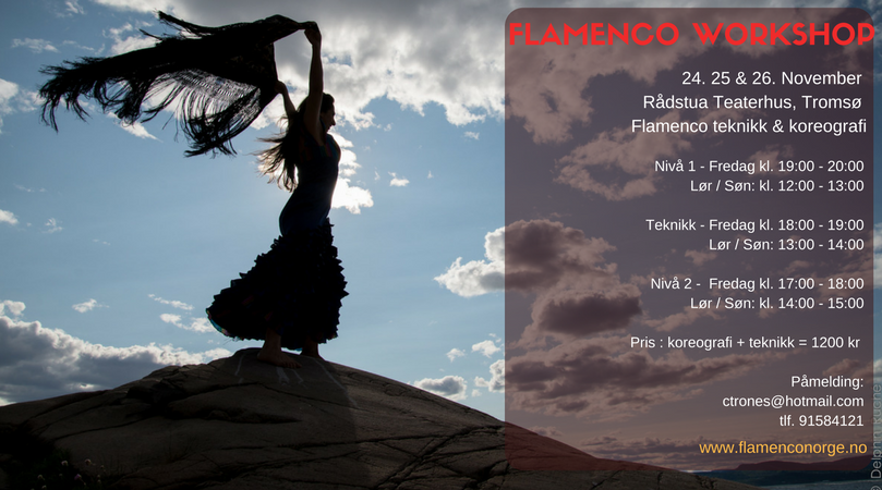 flamencokurs Oslo