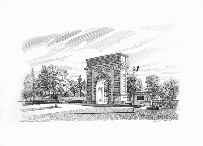 MEMORIAL ARCH - RMC KINGSTON