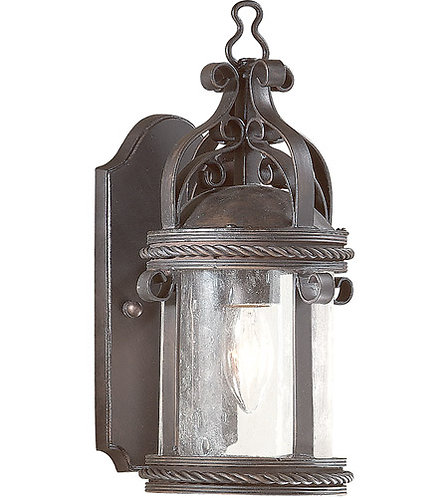BCD9120OBZ Pamplona   Old Bronze Outdoor Wall Lantern